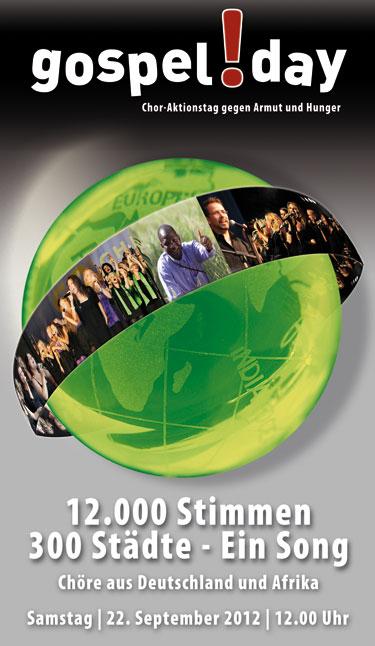 Gospelday Plakat 2012